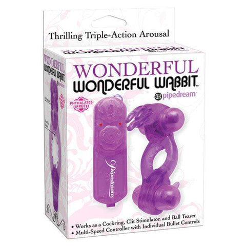 Sex Toys Wonderful Wonderful Wabbit Purple Vibrator sex toys buy now
