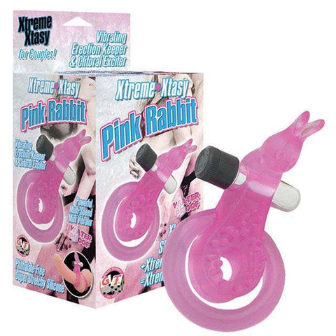 Sex Toys WP Extreme Xtasy Ring Rabbit (Pink) Golden Triangle Men Vibrating cock ring buy now