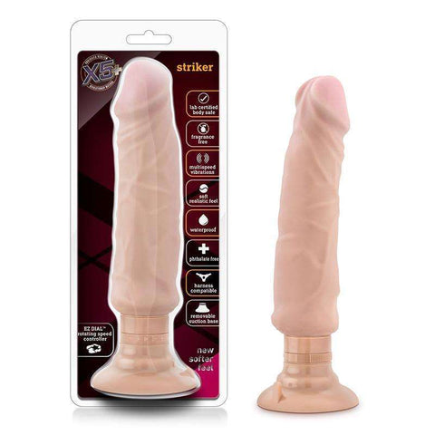 Sex Toys X5 Plus Striker Beige Vibrators Penis Shaped buy now