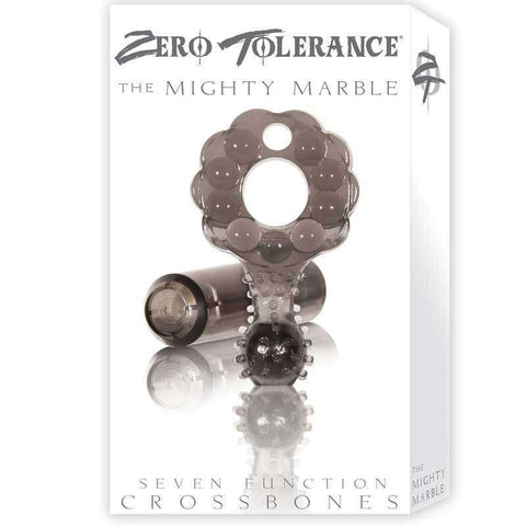 Sex Toys Zero Tollerence Mighty Marble Vib Cock Ring Smoke Evolved Men Vibrating cock ring buy now