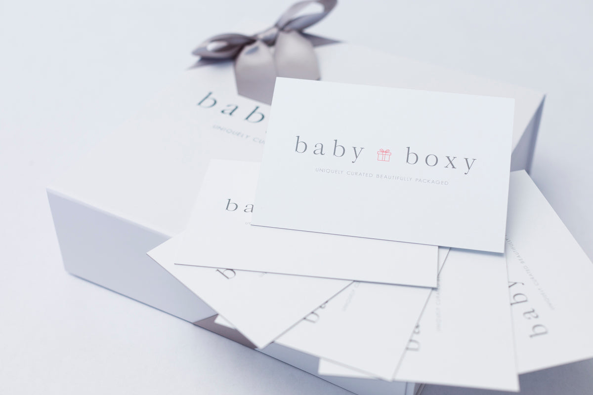 Baby Boxy Greeting Card