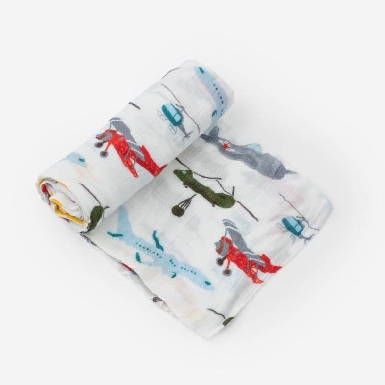 airplane swaddle