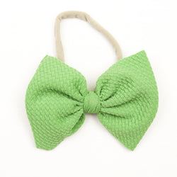 Little Lopers Apple Skinny Bow (One Size)