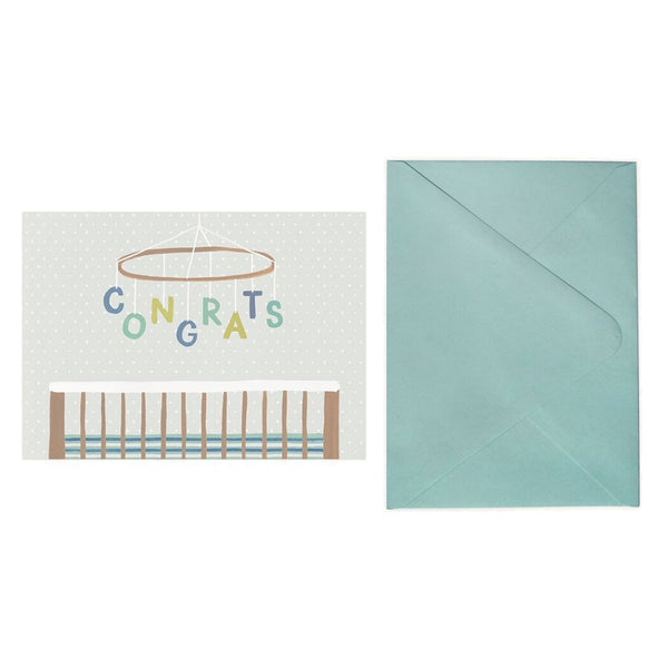 Baby Mobile Greeting Card