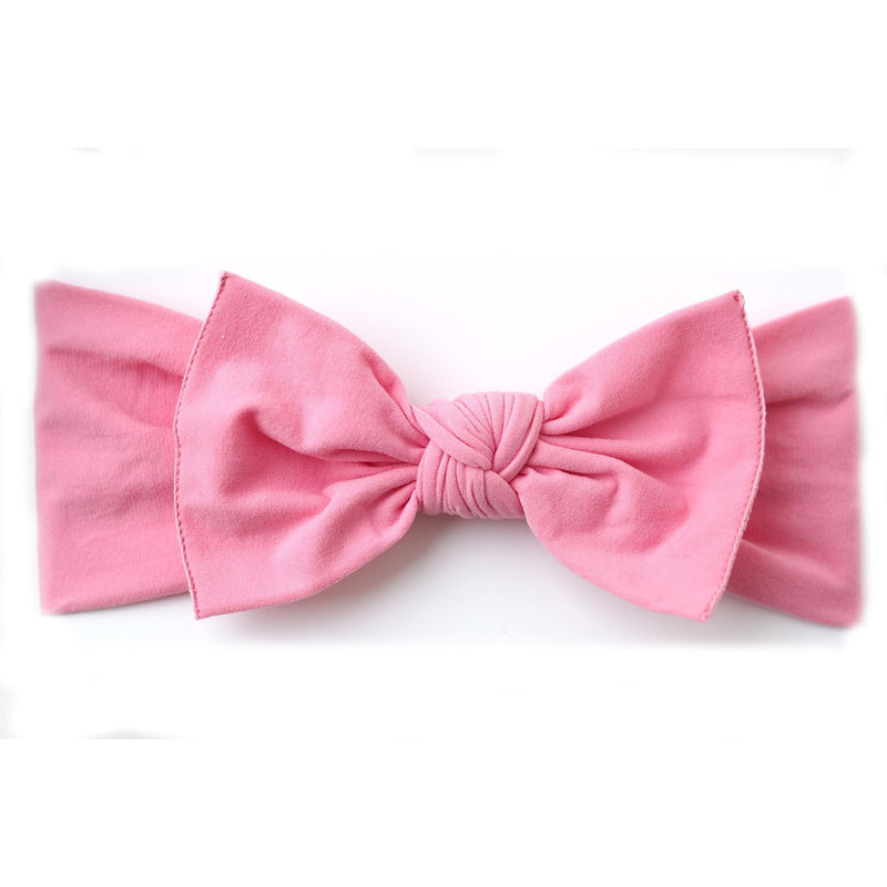 Knot Bow, Barbie Pink (0 - 6 months)