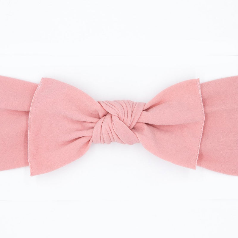 Knot Bow, Candyfloss Pink (0 - 6 months)