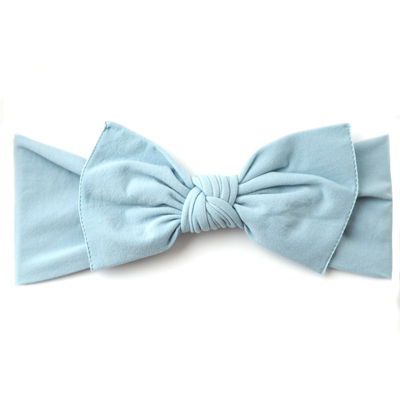 Little Bow Pip, Cornflower Blue (0 - 6 months)