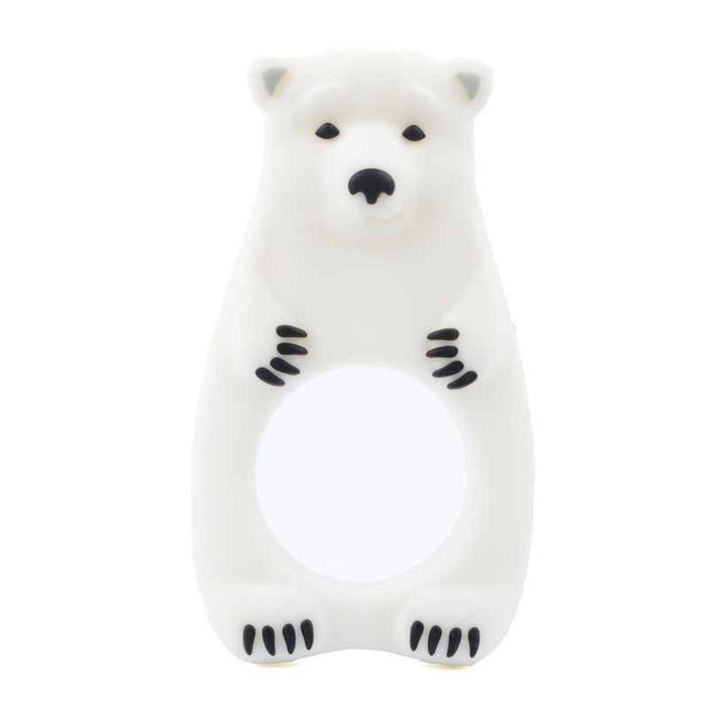 Polar bear teether