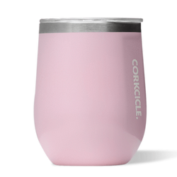Corkcicle Stemless Wine Glass - Rose