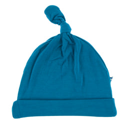 Knot Hat, Seaport Blue (3 - 12 mos)