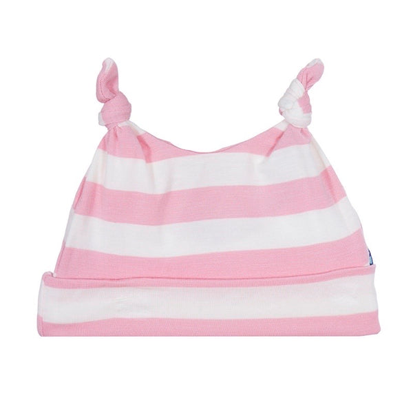 Double Knot Hat, Lotus Stripe (3 - 12 mos)