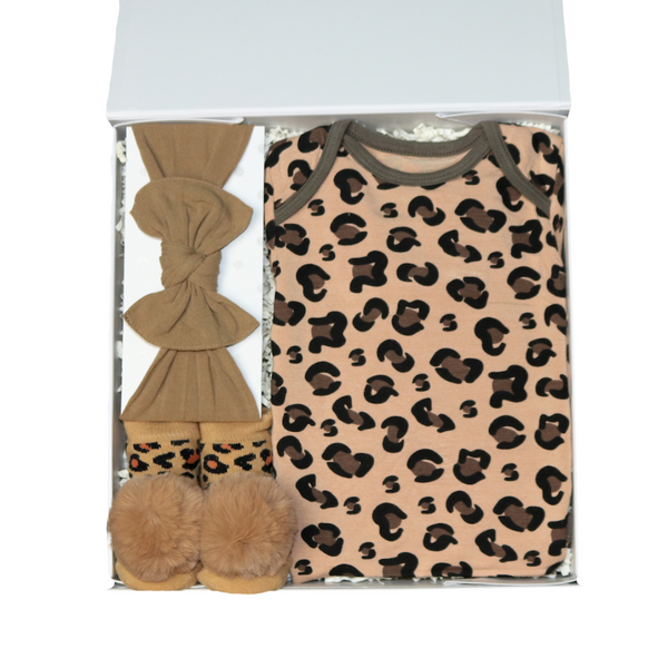 Cheetah Baby Gift Box