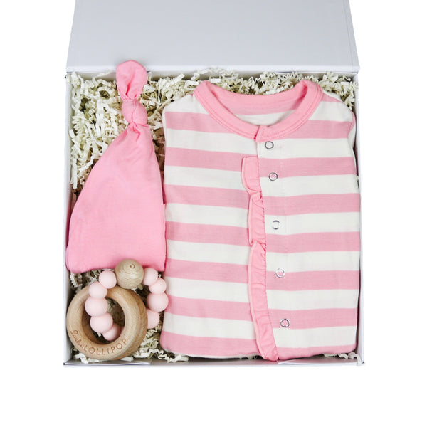 Baby Girl Kickee Gift Set