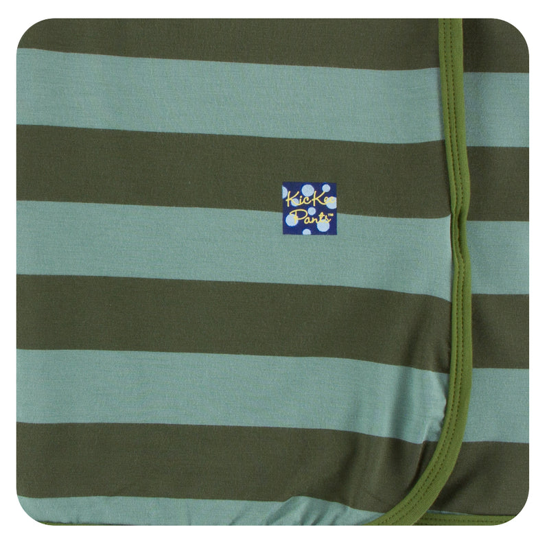 baby stripe kickee swaddle