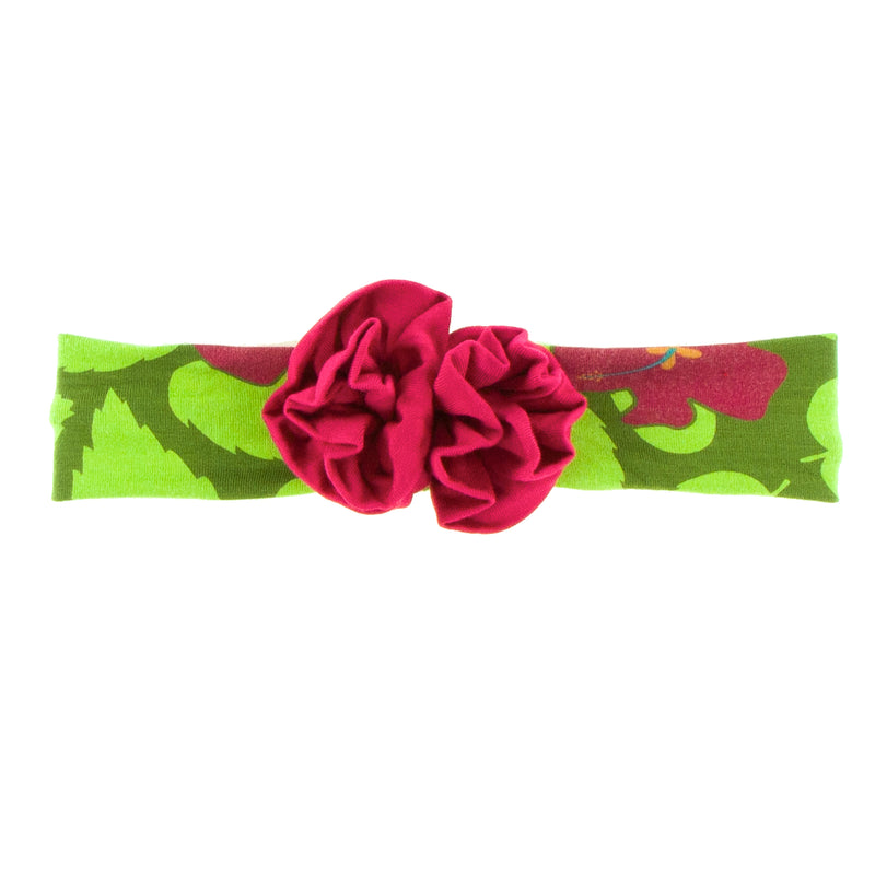 Pesto Hibiscus Bow