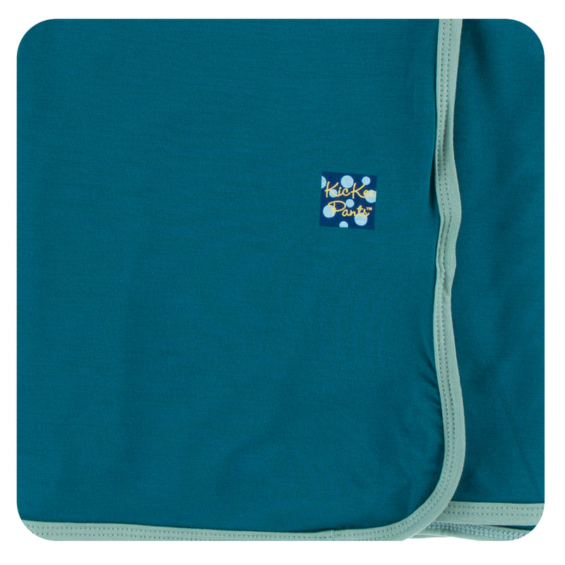 blue kickee pants swaddle
