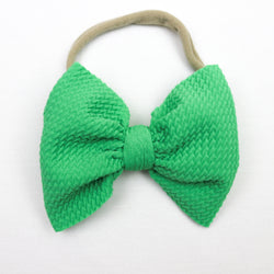 Little Lopers Lucky Skinny Bow (One Size)