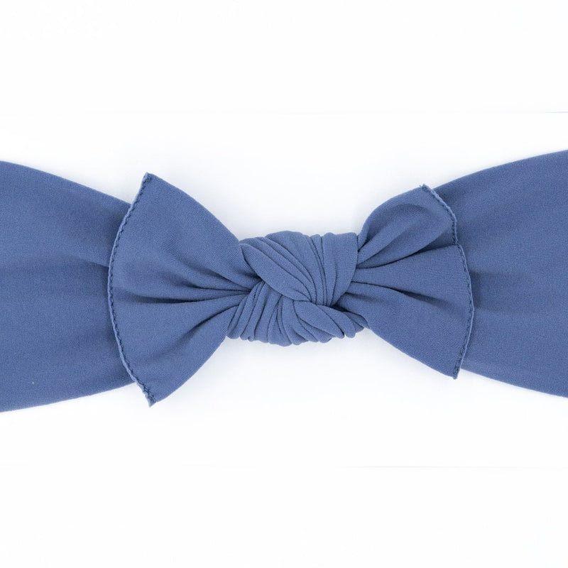 blue baby bow