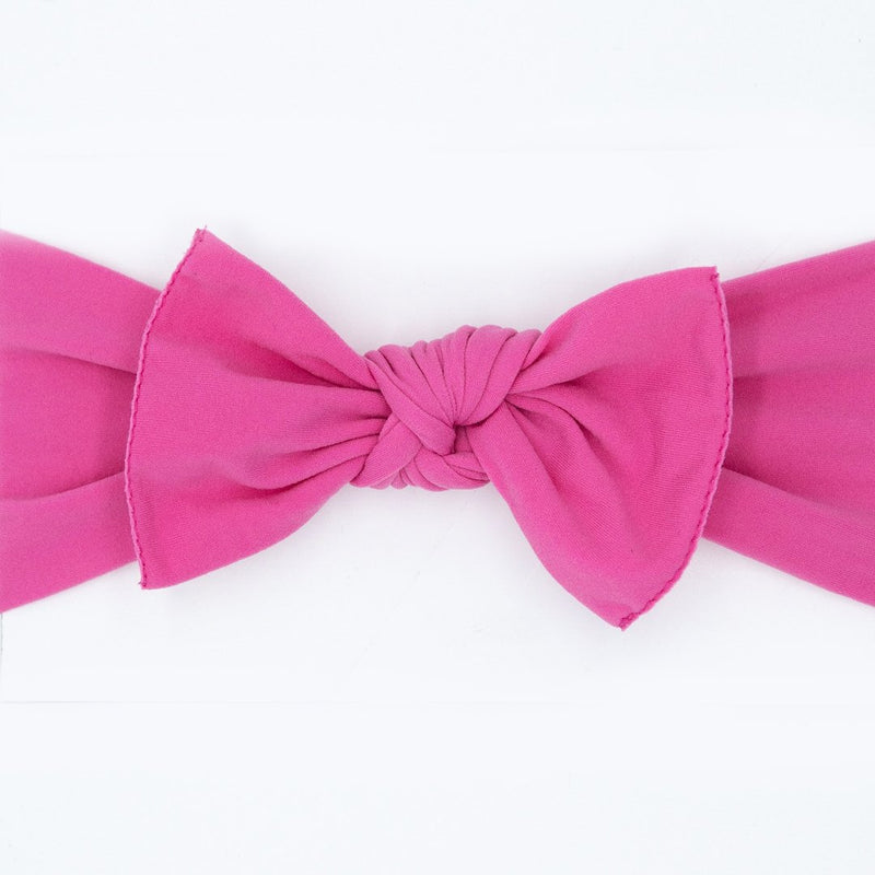 pink baby bow