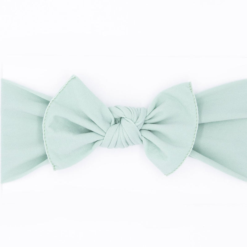 light green bow