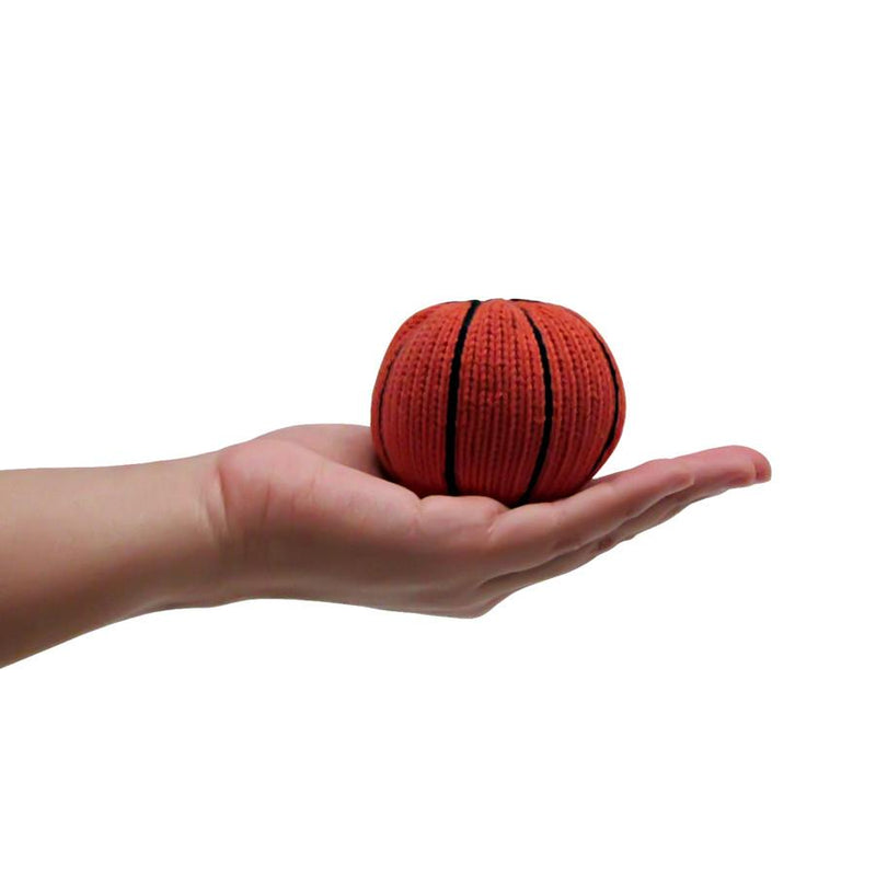 Basketball baby rattle