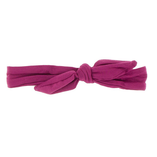 Bow Headband, Berry (0 - 18 months)
