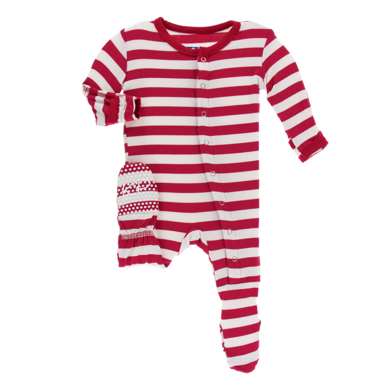 candy cane baby clothing