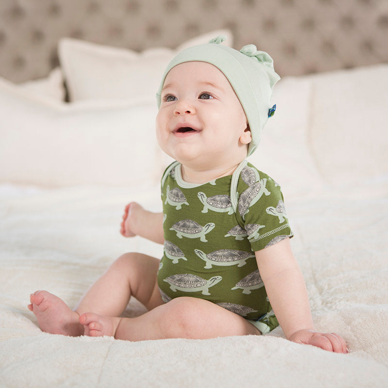 kickee pants turtle one piece