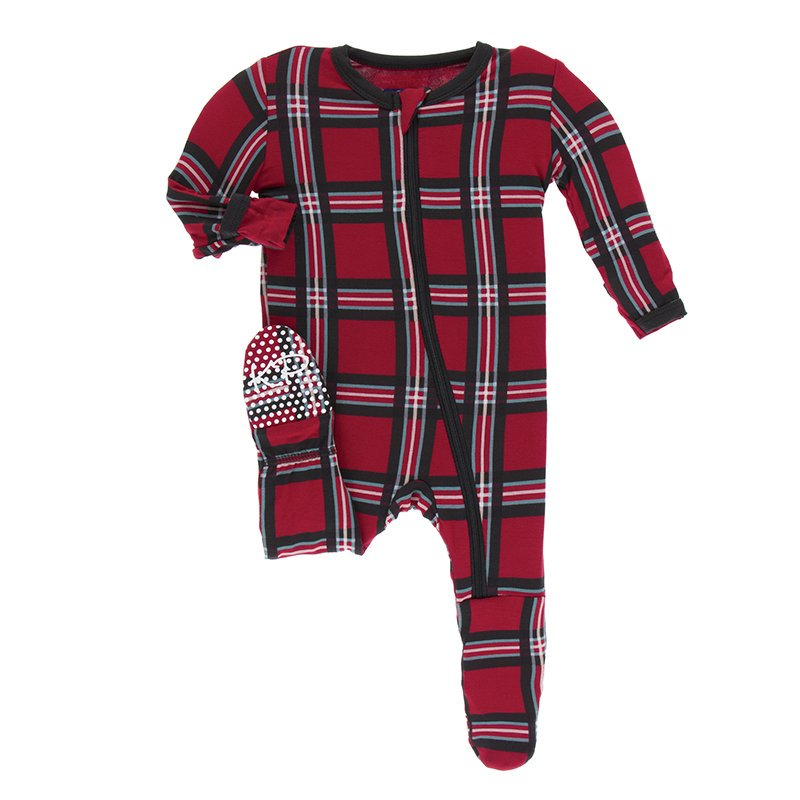Christmas Plaid Baby Gift Box