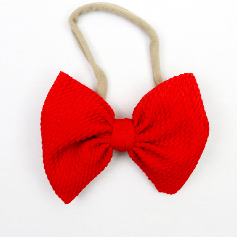 Little Lopers Poppy Skinny Bow (One Size)