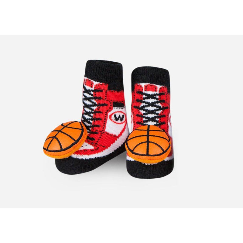 Baby Basketball Rattle Socks