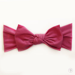 Knot Bow, Rose Pink (0 - 6 months)