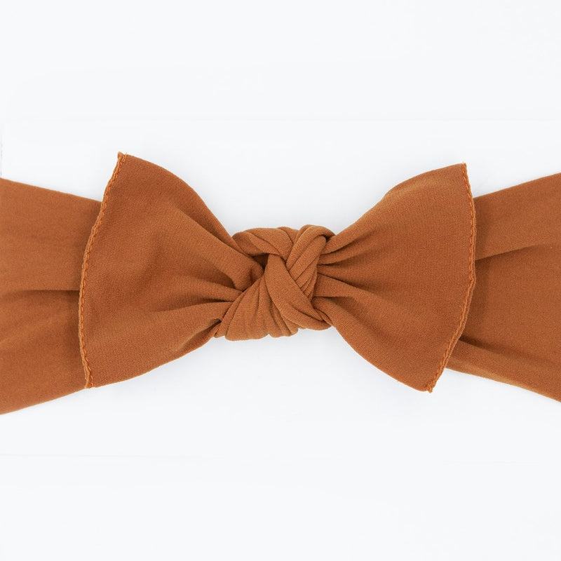 Knot Bow, Rust (0 - 6 months)