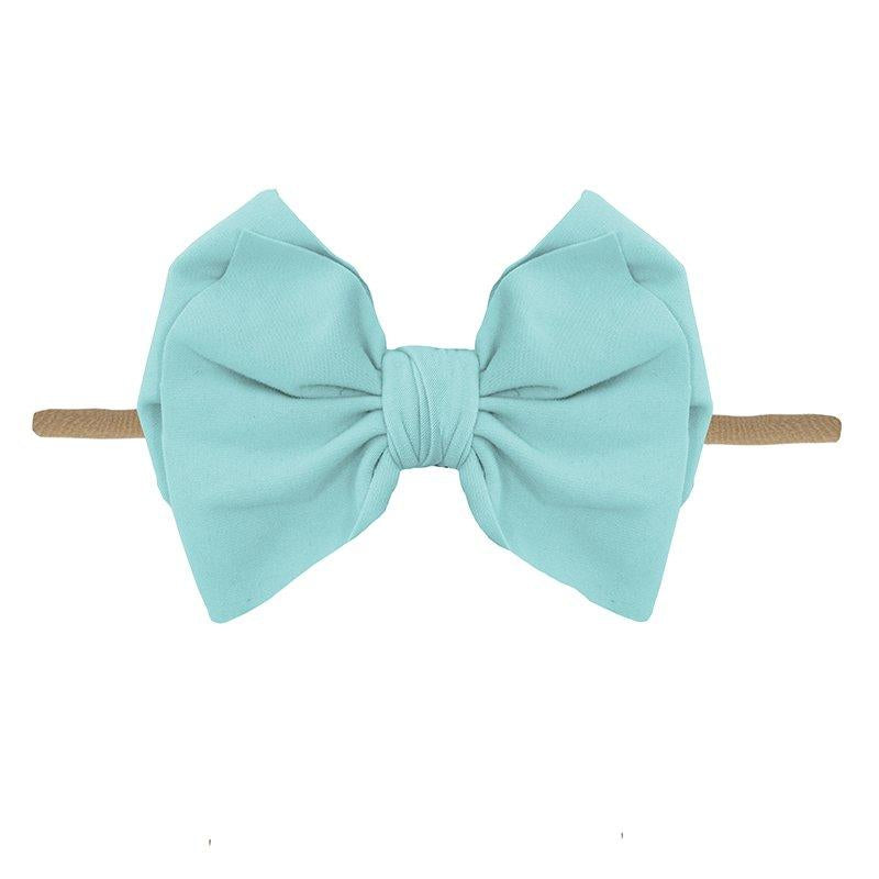 Little Lopers Summer Sky Luxe Skinny Bow (One Size)