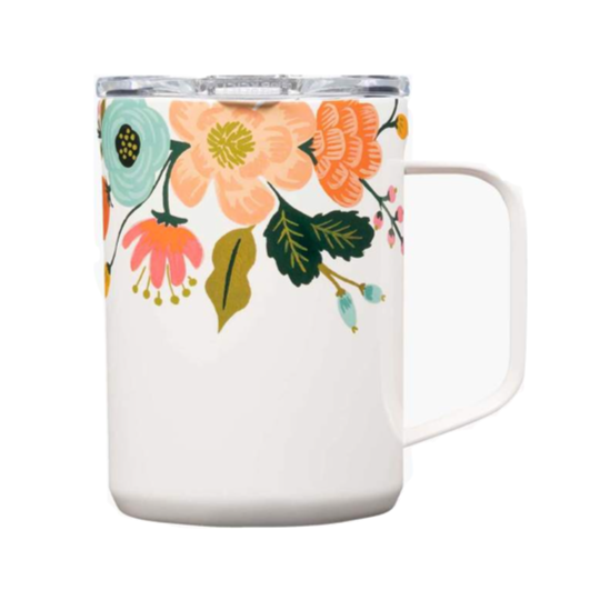 Corkcicle Coffee Mug - Lively Floral
