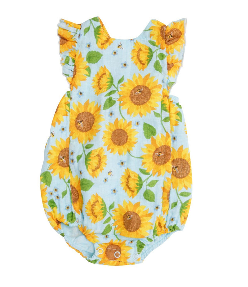 sunflower baby clothes