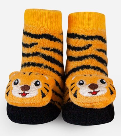 Waddle Tiger Baby Socks