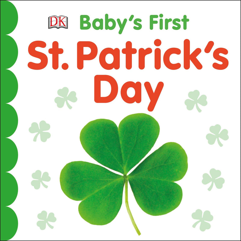 st. Patricks day baby book