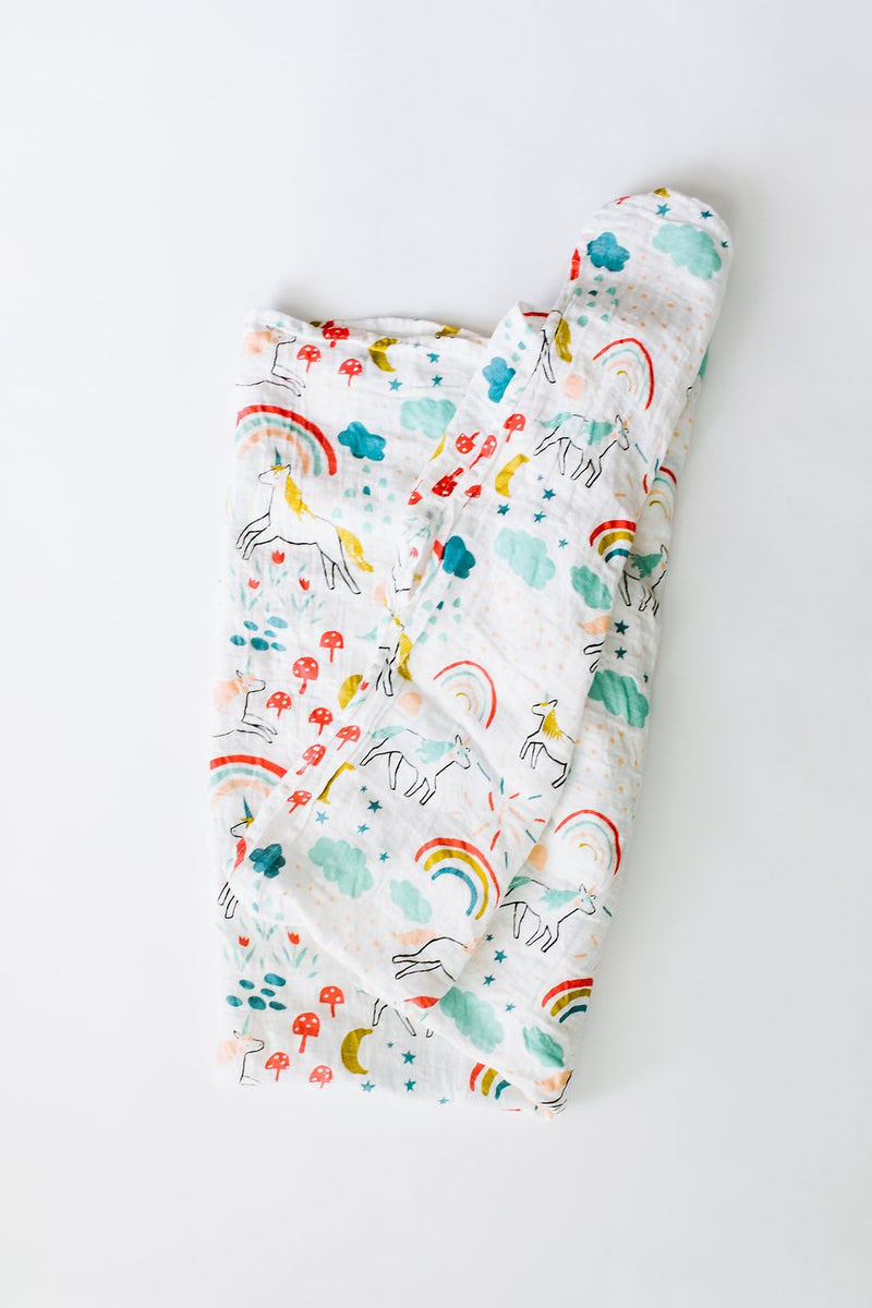 unicorn swaddle