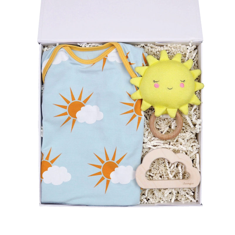 Sun & Clouds Baby Gift Box