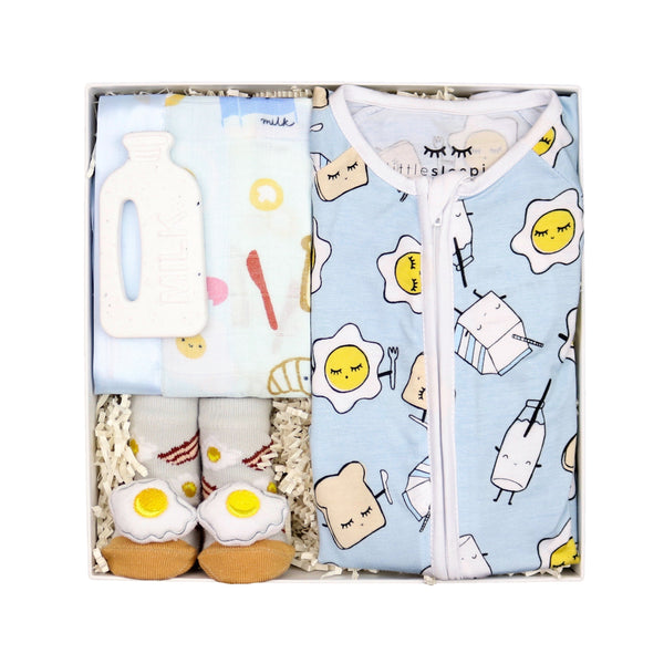 eggs and toast baby gift