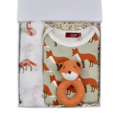 Fox Baby Gift Basket
