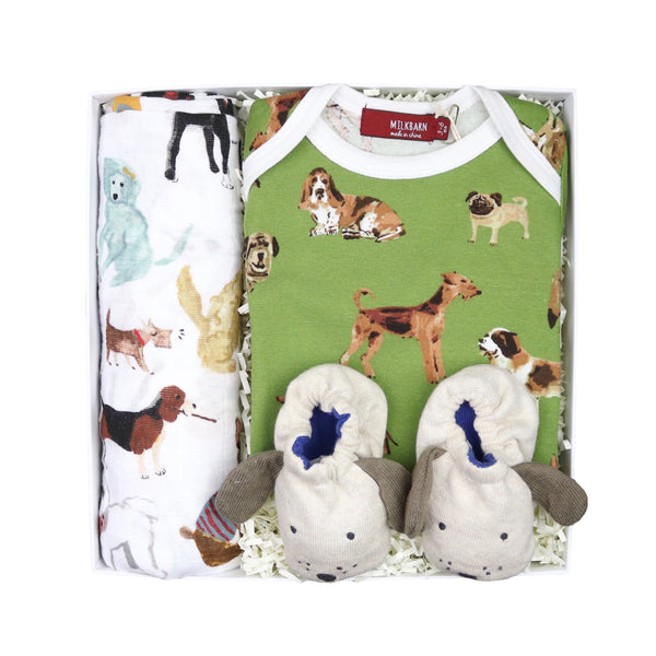 Dog Lover Baby Gift Box