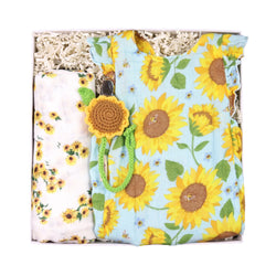 sunflower baby gift