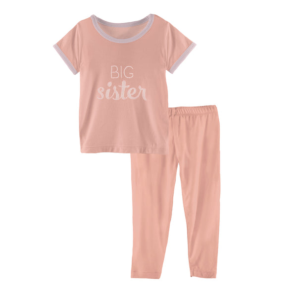 Kickee Pants Big Sister PJ Set – 2T