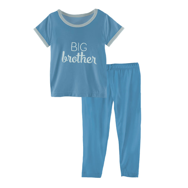 Kickee Pants Big Brother PJ Set – 4T