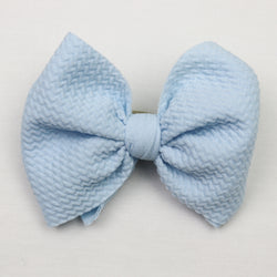 Little Lopers Sky Skinny Bow (One Size)