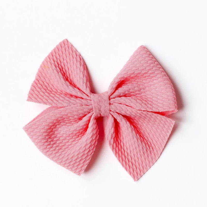 Little Lopers Sunny Pink Butterfly Bow (One Size)