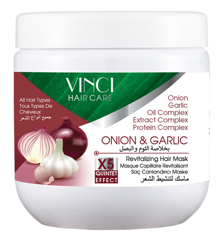 MASK GARLIC  OIGNON & AIL - 500ML