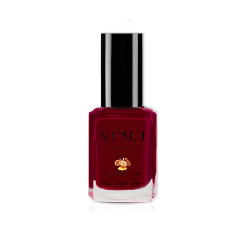VERNIS BORDEAUX   DE VINCI - 12ML